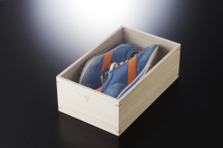新靴収納桐ケース(メンズスニーカー)